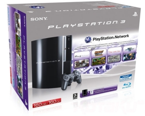 160GB PS3 bundle