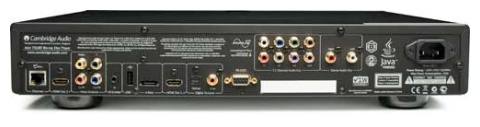 Cambridge Audio BD751 rear connections panel