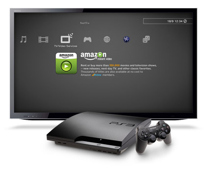 Amazon Instant Video for PS3 in XMB