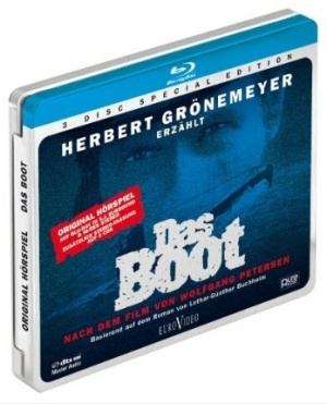Das Boot audio drama Blu-ray Disc