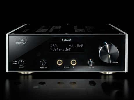 Fostex HP-A8 headphone amp with DSD DAC