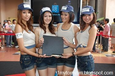 2009 launch of PS3 (Slim) in Malaysia
