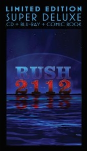 Rush - 2112 CD+BD-A deluxe edition