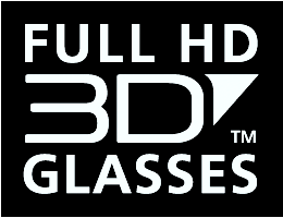 Full HD 3D Glasses standard logo