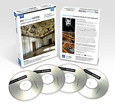 Naxos: The Virtual Haydn - complete works for solo keyboard