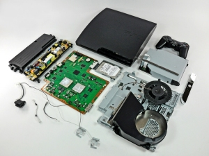 PS3 Slim deconstructed