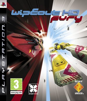 WipEout HD/Fury Blu-ray Disc